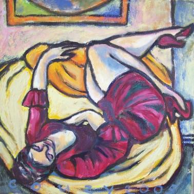 Huiselijke genoegens 4 30x30cm Annemieke Couzy 2005