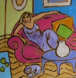 Huiselijke genoegens 7 30x30cm Annemieke Couzy